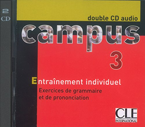 Campus 3, méthode de français : double CD