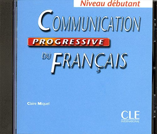 Communication progressive du français (CD audio), niveau débutant