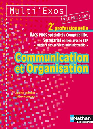 Multi'Exos Communication et Organisation 2nd pro