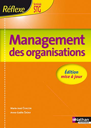 Management des organisations Tle STG