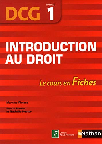 Introduction au droit - Fiches DCG 1