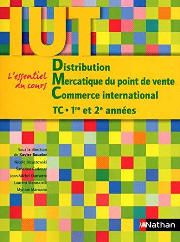 Distribution - Mercatique du point de vente - Commerce international - IUT TC 1ère et 2ème années