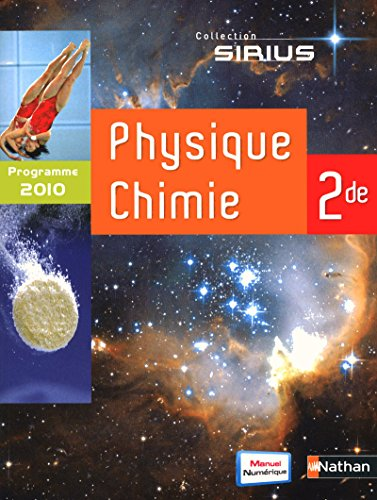 Sirius Physique Chimie 2nd