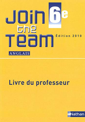 Anglais 6e Join the Team A1/A2