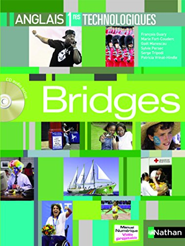 Bridges Anglais 1res Séries technologiques 1CD audio