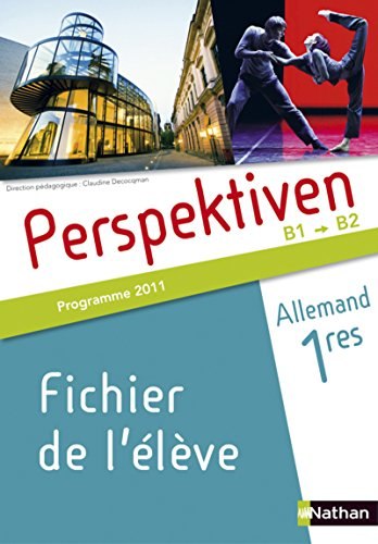 Allemand 1res Perspektiven Programme 2011