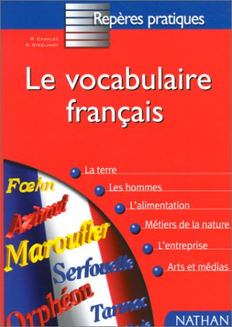 Le Vocabulaire français