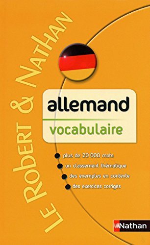 Allemand vocabulaire