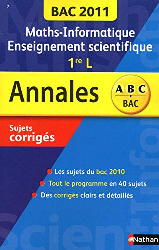 Maths-Informatique Enseignement scientifique 1re