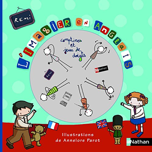 L'imagier en anglais : Edition en langue anglaise (1CD audio)