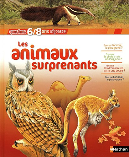 Les animaux surprenants