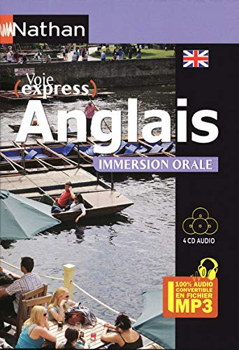 Anglais Immersion Orale - Pack 4 CD 100 % Audio