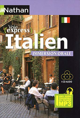 Italien -Immersion Orale - Pack 4CD 100% Audio