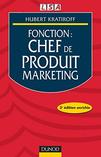 Fonction, chef de produit marketing