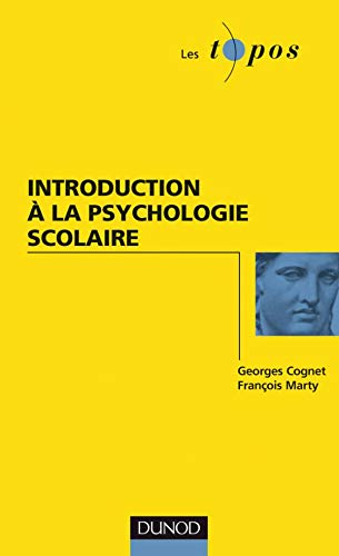 Introduction à la psychologie scolaire