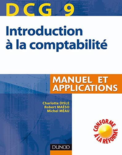 Introduction comptabilité DCG9 : Manuel et applications