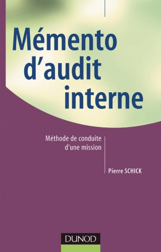 Mémento d'audit interne