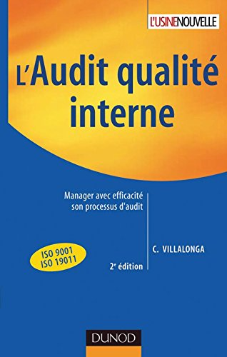 L'audit qualité interne