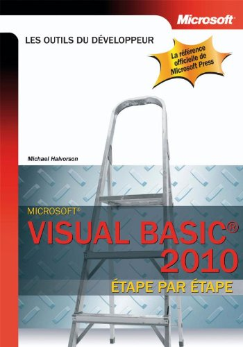 Visual Basic 2010 - Etape par Etape