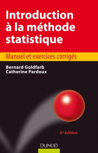 Introduction à la méthode statistique - 6e édition