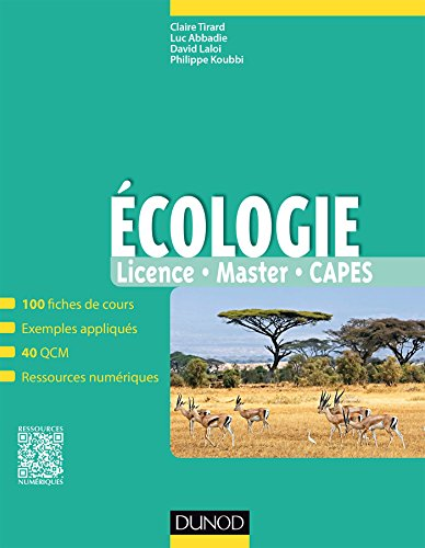 Écologie : licence, master, CAPES |