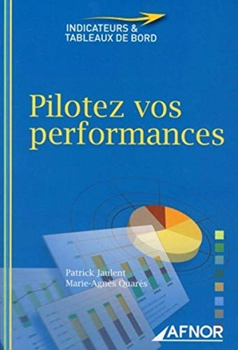 Pilotez vos performances