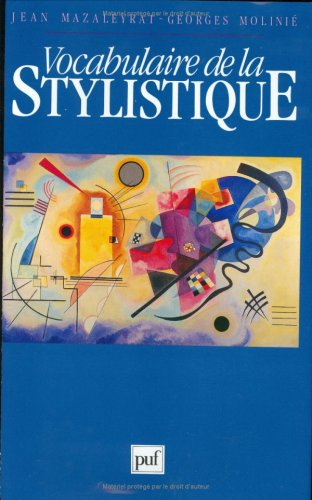 Vocabulaire de la stylistique