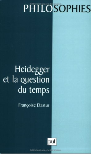 Heidegger et la question du temps