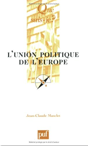L'union, politique de l'europe