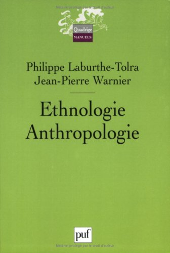 Ethnologie - Anthropologie