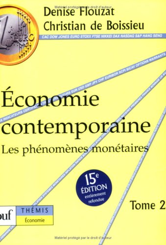 Economie contemporaine , tome 2