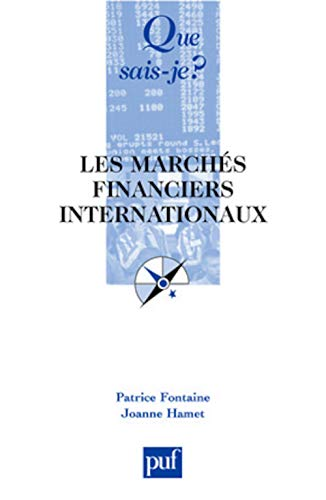 Les marchés financiers internationaux : Le marché international des capitaux