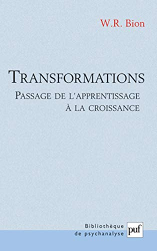 Transformations - Passage de l'apprentissage à la croissance