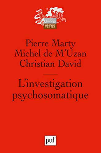 L'investigation psychosomatique