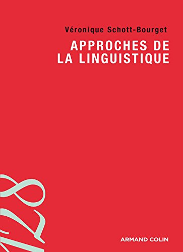 Approches de la linguistique