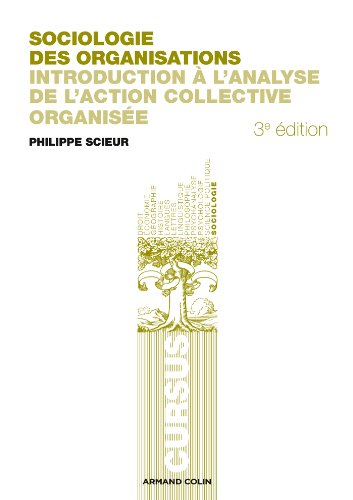 Sociologie des organisations: Introduction à l'analyse de l'action collective organisée
