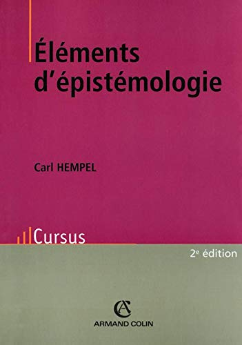 Elements d'épistémologie.