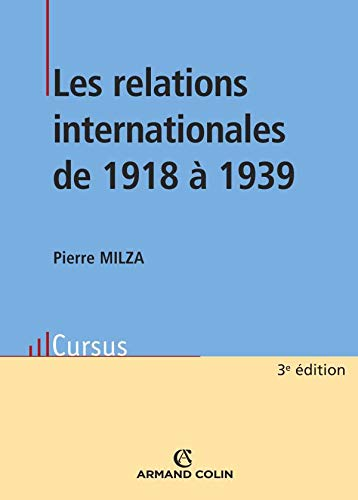Les relations internationales de 1918 à 1939