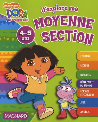 J'explore ma moyenne section, 4-5 ans