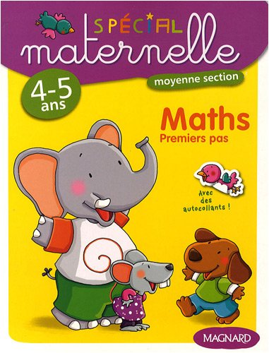 Maths, moyenne section, 4-5 ans : Premiers pas