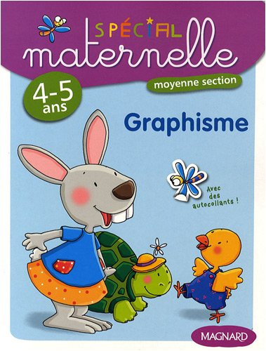 Graphisme, moyenne section, 4-5 ans