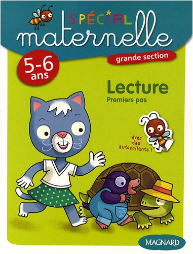 Lecture, grande section, 5-6 ans