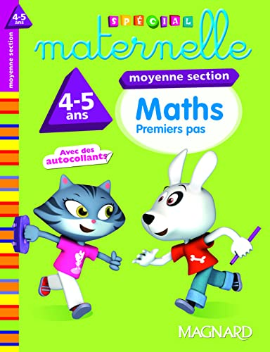 Maths moyenne section 4-5 ans : Premiers pas