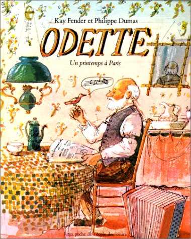 Odette. Un printemps à Paris