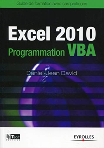 Excel 2010 Programmation VBA