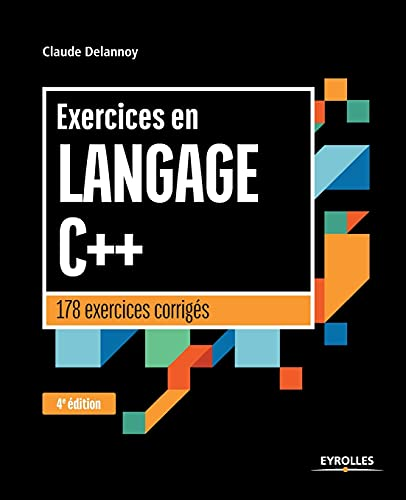 Exercices en langage C++  
