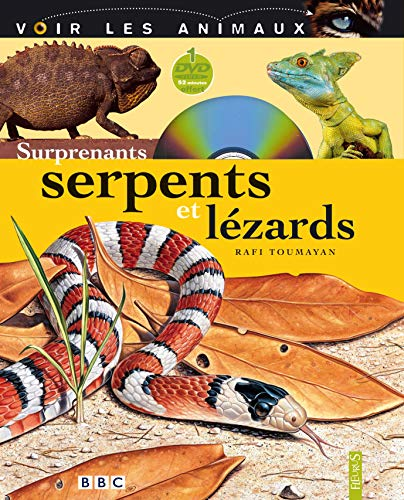 Surprenants serpents et lézards (1DVD)
