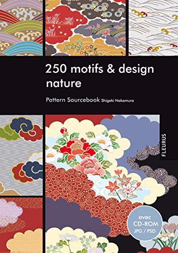 250 motifs et design nature (+CD-ROM)