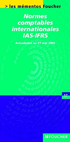 Normes comptables internationales IAS-IFRS Ancienne Edition