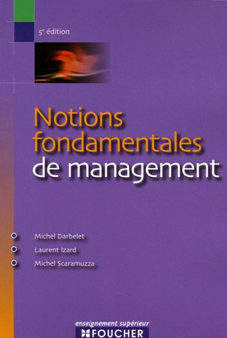 Notions fondamentales de management